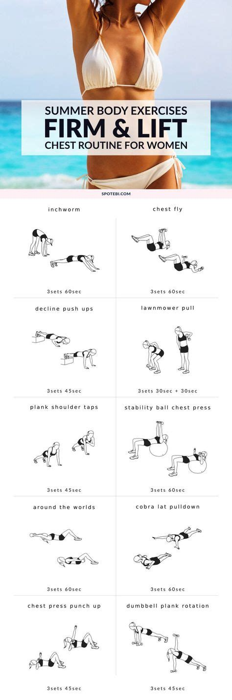 at home chest exercises 1000 ideas about on couples