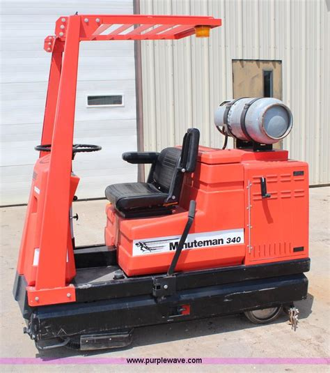 minuteman 340 floor scrubber no reserve auction on