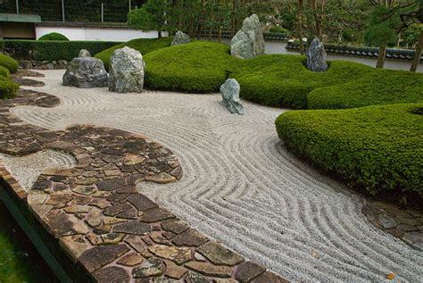 Japanese Rock Garden, Zen And