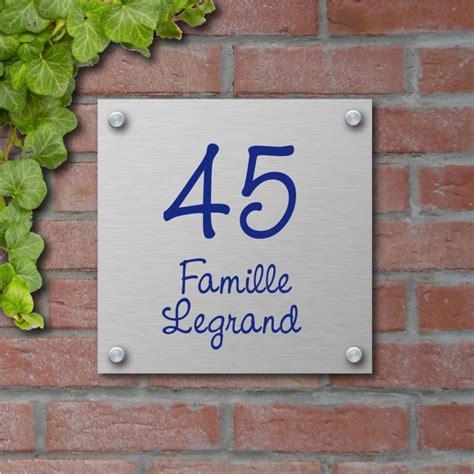 plaques professionnelles et plaque de maison aluminium votre plaque personnalis 233 e en aluminium