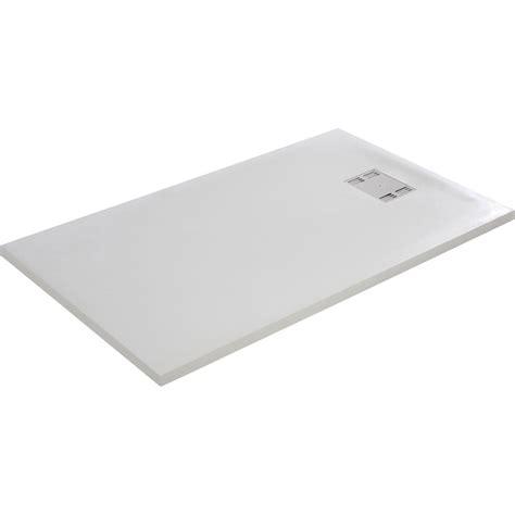 receveur de rectangulaire l 140 x l 90 cm r 233 sine blanc slate leroy merlin