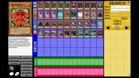 exodia deck dueling network