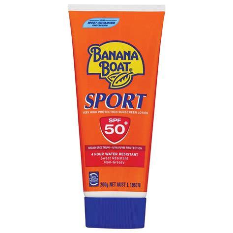 Banana Boat Sunscreen Online by Buy Banana Boat Spf 50 Sport 200g Tube Online At Chemist