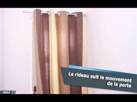 ridorail ib tringle pour habiller votre porte en renfoncement avec un rideau 224 oeillets