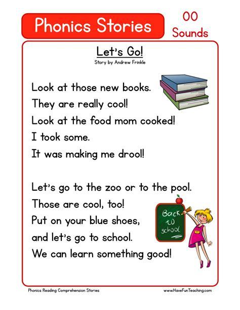 This Reading Comprehension Worksheet  Let's Go! Is For Teaching Reading Comprehension Use This