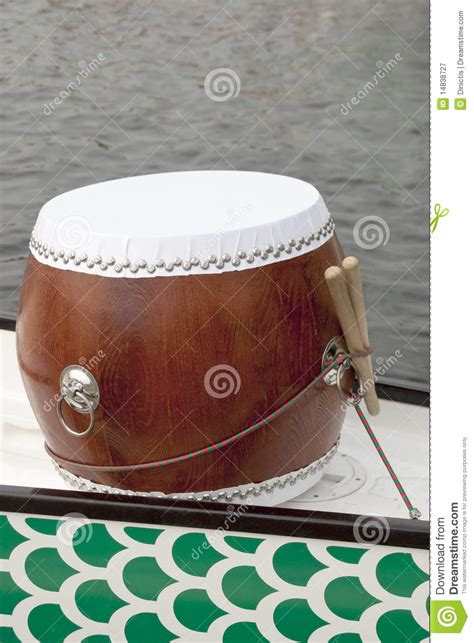 Dragon Boat Drum by Dragon Boat Drum With Drumstick Stock Image Image 14838727