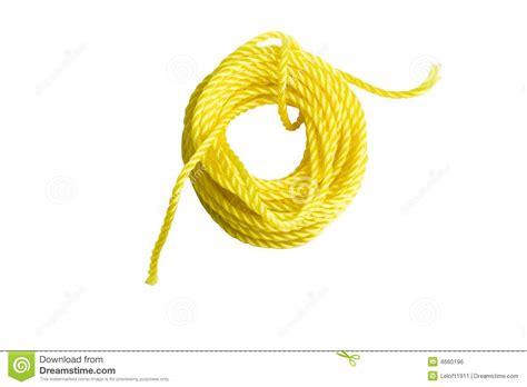 corde jaune image libre de droits image 4660196