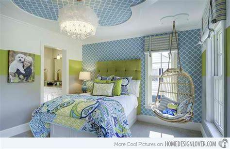 Killer Blue And Lime Green Bedroom Design Ideas
