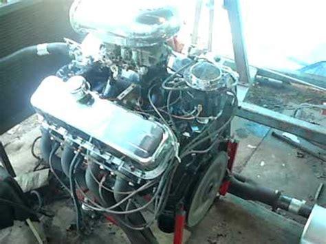 chevy 427 deck idling