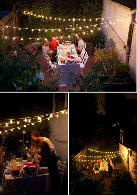 25 best ideas about patio string lights on outdoor pole lights patio lighting and
