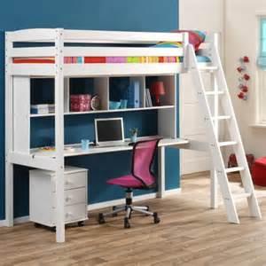 lit superpose avec bureau pour fille visuel 8