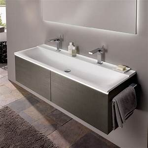 Keramag Xeno Handwaschbecken : keramag xeno waschtisch b 160 h 48 cm ohne berlauf mit 2 hahnl chern wei 427061016 ~ Markanthonyermac.com Haus und Dekorationen