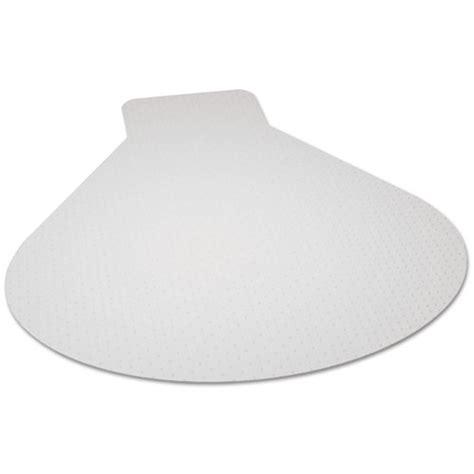 es robbins 174 everlife chair mats for medium pile carpet contour 66 x 60 clear esr122775