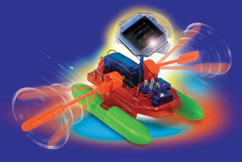 Solar Powered Toy Boat by Solar Powered Speed Boat Eco Toy Envirogadget