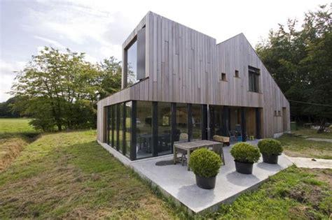 terrasse de maison design en bois