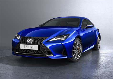 2019 Lexus Rc Lands With New Looks, Sharper Suspension