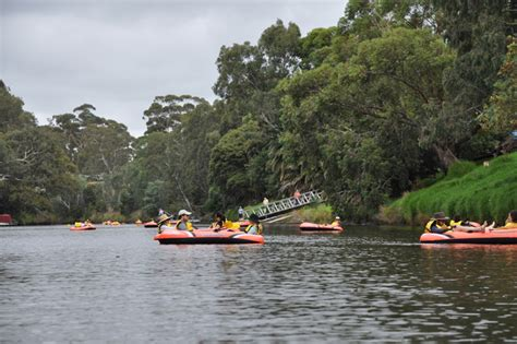 Inflatable Boat Yarra River by Inflatable Regatta 2017 Melbourne