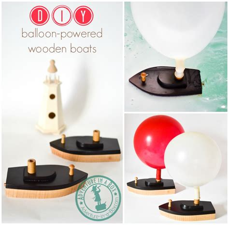 Toy Boat Decoration by Wooden Toy Sailboat