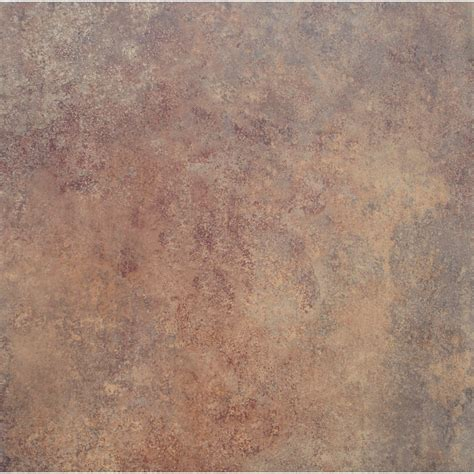 stainmaster 18 in x 18 in rust finish luxury vinyl tile home design idea