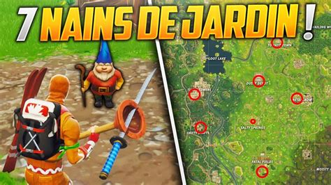 Trouver 7 Nains De Jardin Sur Fortnite Battle Royale