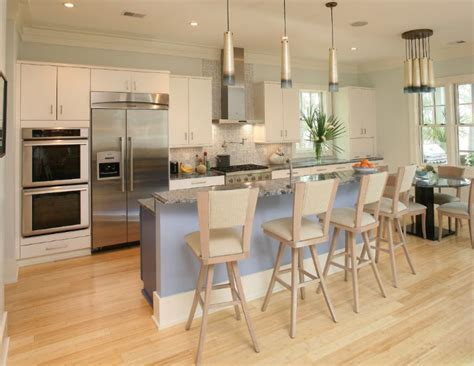 A Closer Look At Bamboo Flooring Irregular Shaped Kitchen Islands Interior Design Small Ideas For Galley Kitchens Island Lighting Pendant White With Wood Extra Long Tables Spaces