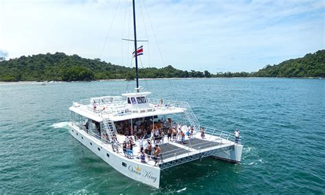 Excursion Catamaran Manuel Antonio by Costa Rica Tours Catamaran Manuel Antonio