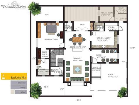 Luxury Bungalow Floor Plan