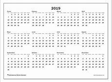 Calendarios 2019 LD Michel Zbinden es