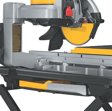 dewalt d24000 1 5 horsepower 10 inch tile saw power tile saws
