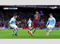 Neymar Amazing Rainbow Flick vs Celta Vigo 14022016