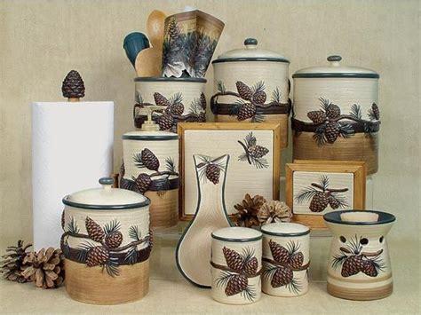 Pinecone Kitchen Decor, Pine Cone Kitchen Accessories Pine