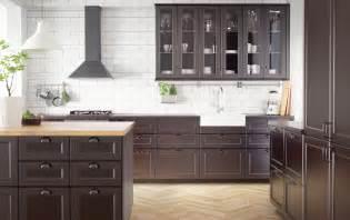 ikea black kitchen cabinets home design inspiraion ideas