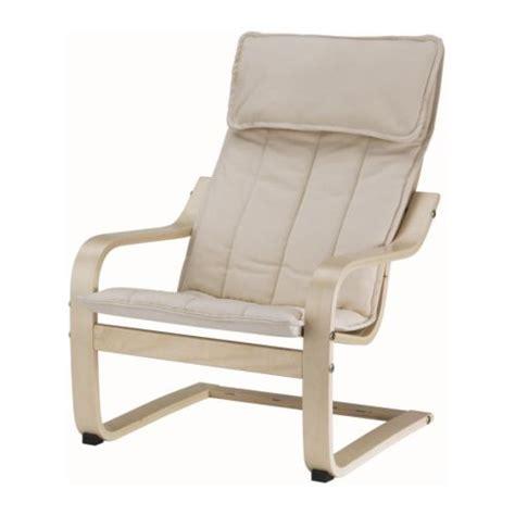 po 196 ng fauteuil enfant plaqu 233 bouleau alm 229 s 233 cru ikea