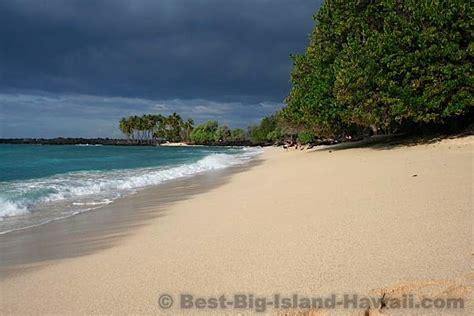 Kekaha Kai State Park Beach  Big Island Hawaii