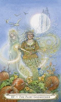 From Lisa Hunt's Fairy Tale Tarot (xlnt Collection Of