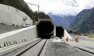 World's longest railway tunnel - Rediff.com Business