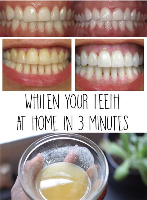 at home teeth whitening whiten your teeth at home in 3 minutes crafting for holidays