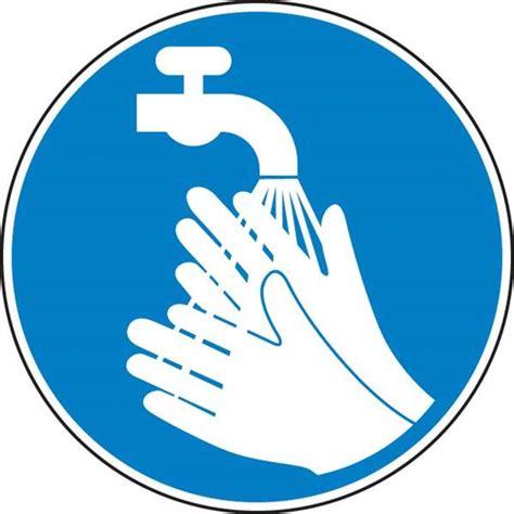 panneau de s 233 curit 233 panneau obligation lavage des mains affichage obligatoire adhesif diam 100mm
