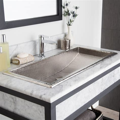 Trough 30 Rectangular Copper Bathroom Sink  Native Trails. Ipe Deck Tiles. Faux Wood Patio Table. Lowes Bathroom Remodel. Wolf Appliances Reviews. Coastal Upholstery Fabric. J&k Cabinetry. White Wash Dining Room Table. Grey Leather Sectional Sofa