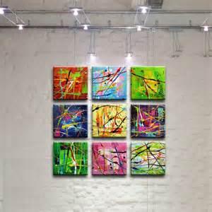 peinture tableau oeuvre abstrait sur toile toile produits et technologie et