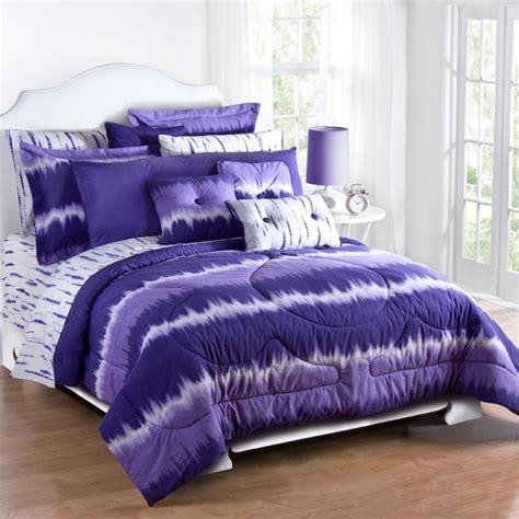 purple tie dye xl comforter set percale free shipping