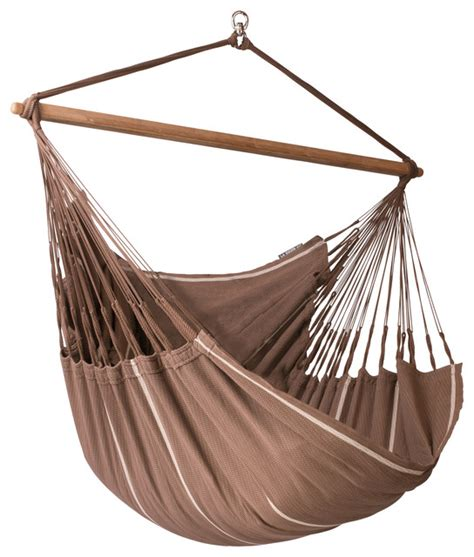 la siesta hammock chair lounger habana chocolate lounger