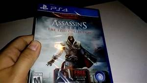 Assassin's Creed The Ezio Collection Unboxing - PS4 - Free ...