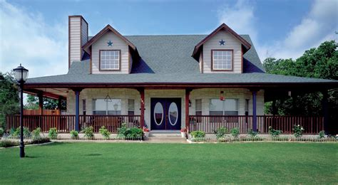 Home Design With Wrap Around Porch : Country Homes Plans With Porches