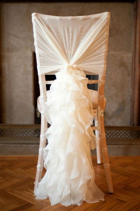 on vous pr 233 sente la housse de chaise mariage en 53 photos