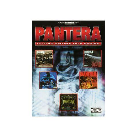 sheet song books hal leonard pantera anthology
