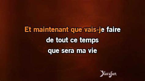 Karaoké Et Maintenant (live)  Isabelle Boulay * Youtube