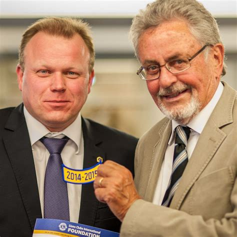 Olaf Bödecker Ist Neuer Präsident Des Lions Clubs Hannover