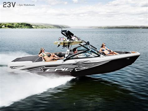 Wake Boat Dealers by Epic Wake Boats 23 V 2016 New Boat For Sale In Nanton