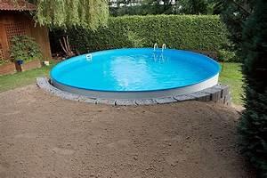 Stahlwandpool In Erde Einlassen : versenkter pool ~ Markanthonyermac.com Haus und Dekorationen